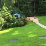 Grillplatz - Treppenanlage